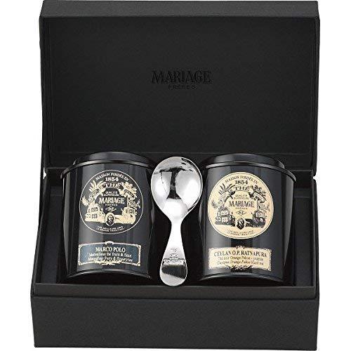 フレール 紅茶の贈り物(マルコポーロ、セイロン ラトナピュラ、茶さじ)