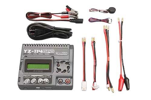LiPo/LiFe 対応 AC/DC コンピューター充電器 (バランサー内蔵CG柄) YZ-114SPBC