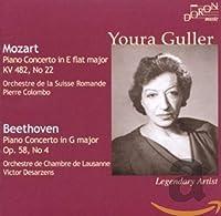 Youra Guller spielt Mozart und Beethoven