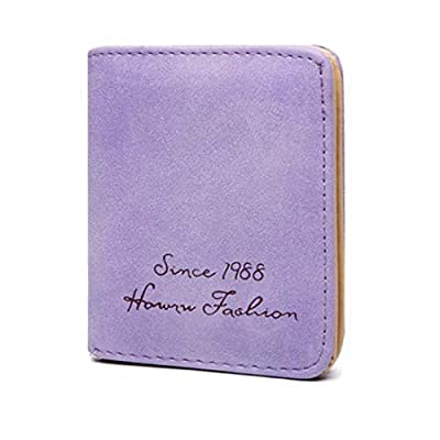VWH Ladies Wallet Thin Short Section Student Wallet Female Scrub Multi-Card Wallet