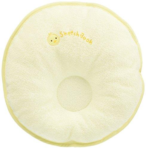 西川産業 babypuff ドーナツ枕(中) クリーム 綿100% LMF1501302