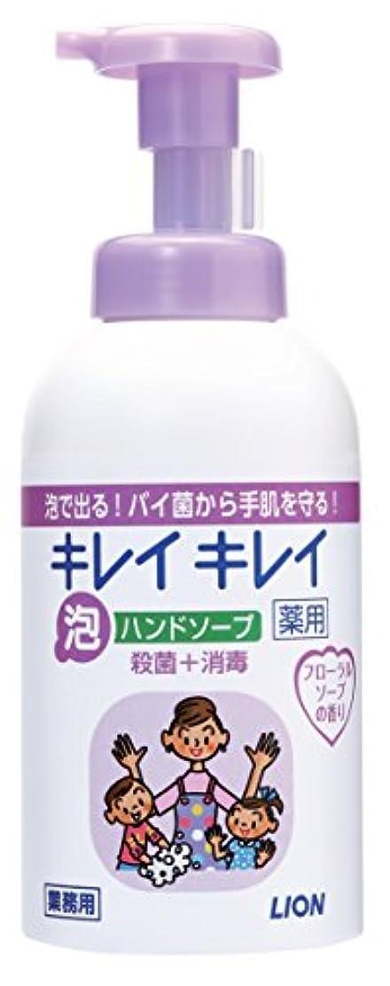 ことわざあいまいな欠如キレイキレイ 薬用泡ハンドソープ フローラルソープの香り 550ml