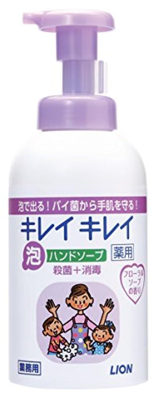 シェードレオナルドダオーバーフローキレイキレイ 薬用泡ハンドソープ フローラルソープの香り 550ml