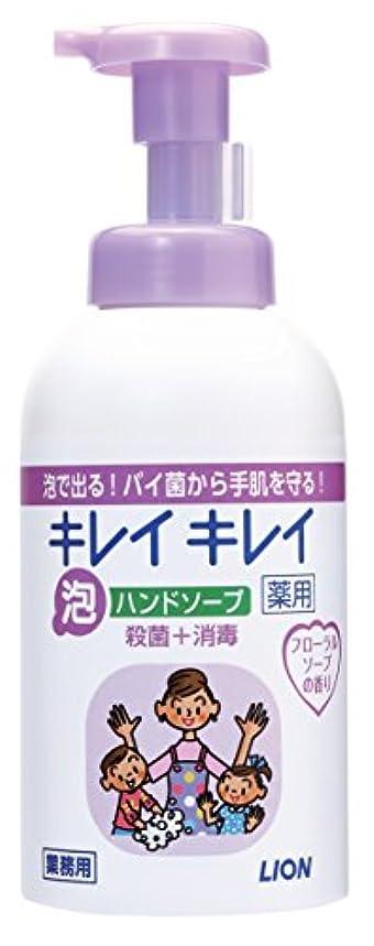 ピック気候放つキレイキレイ 薬用泡ハンドソープ フローラルソープの香り 550ml