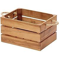 木製 収納ボックス バスケット (ナチュラル) GK905XP