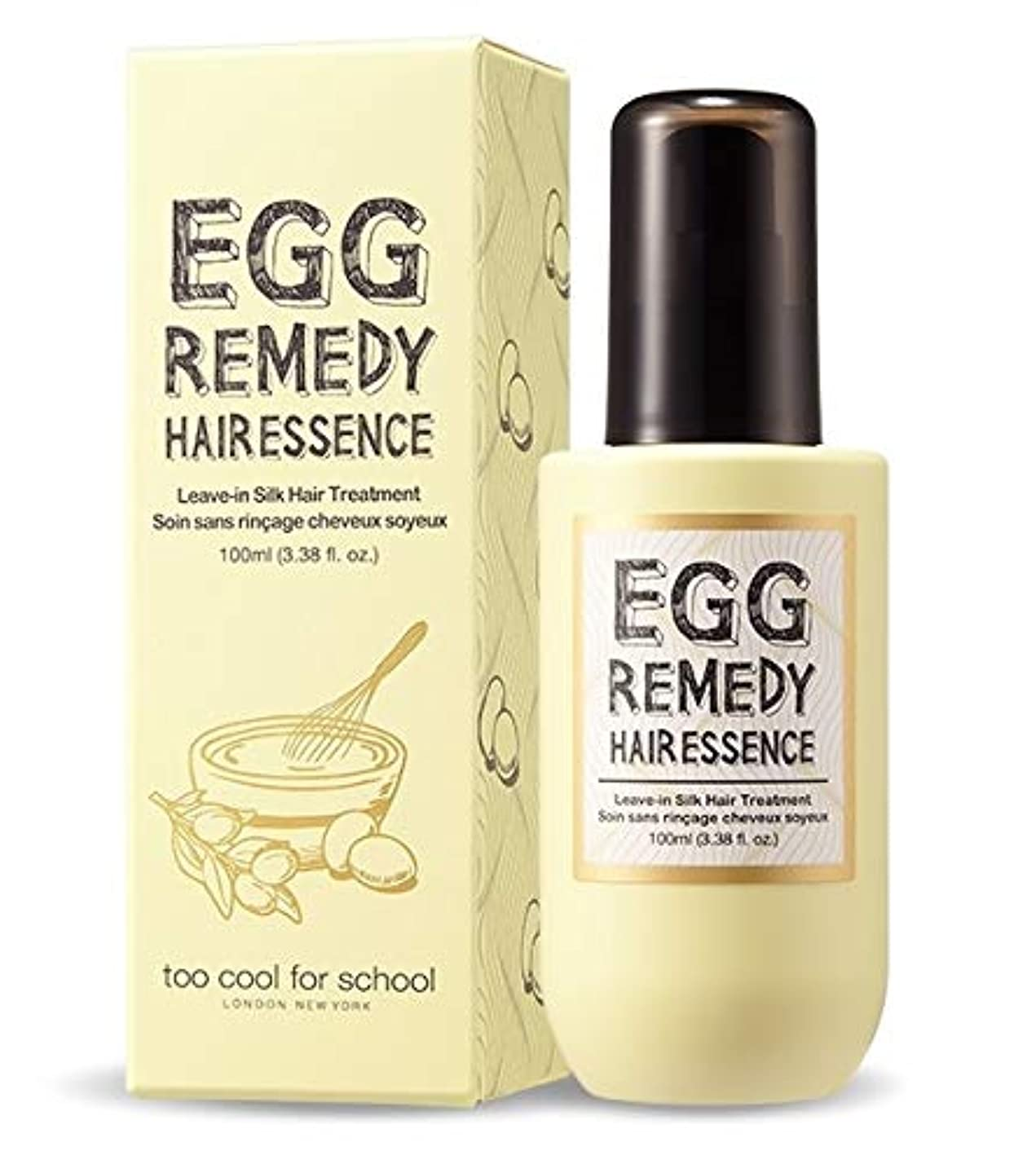 Too Cool For School ツークルポスクール EGG Remedy Hair Essence ヘアエッセンス100ml Damaged hair care, For dry hair