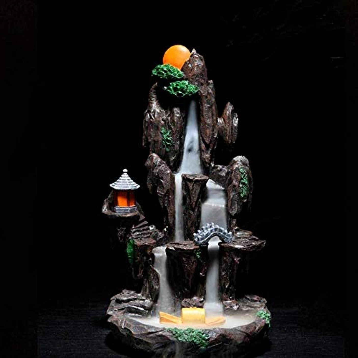 エミュレーション鉛筆ポスト印象派逆流香バーナーホルダーセラミック香コーンバーナーホームオフィス装飾工芸品