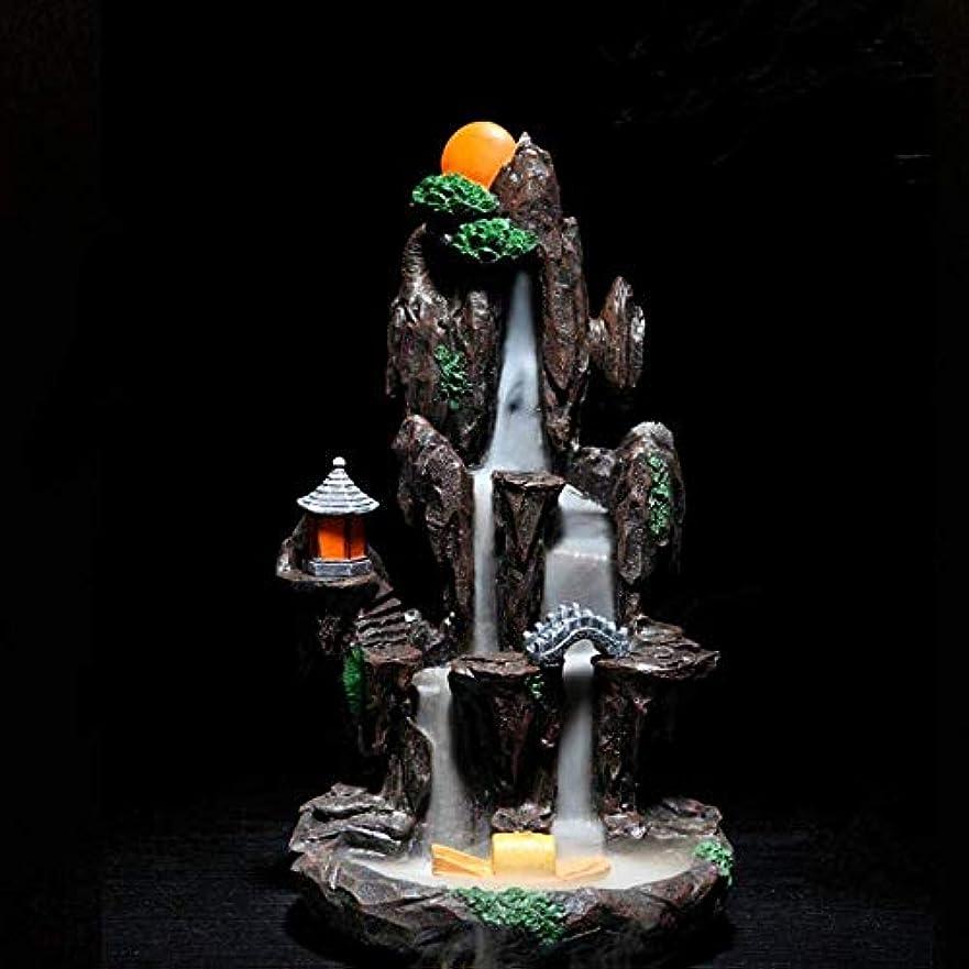宿悪性の密輸逆流香バーナーホルダーセラミック香コーンバーナーホームオフィス装飾工芸品