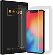 Nimaso, Tempered Glass LCD Screen Protector for iPhone X (Made in Japan, Materials Produced by Asahi Glass Co.