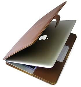 ミヤビックス PDAIR レザーケース for MacBook Air 横開きタイプ ブラウン PALCMBAB/BR