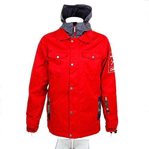 ボンファイア (ボンファイア) BONFIRE TD-X JACKET 14FW L37532300 RED レッド M【Mens】