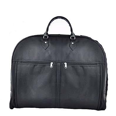 スーツ用バッグ~撥水加工/高級・ガーメントバッグ~ブラックI-1538