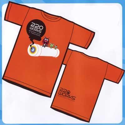 赤塚不二夫 AKATSUKA FUJIO×PansonWorks 220WORKS 赤塚キャラクターズTシャツ ニャロメ&ケムンパス&べし メンズ M