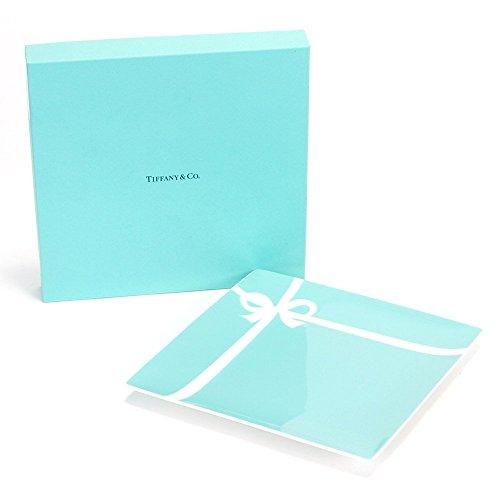 【名入れ対応可】ティファニー TIFFANY&Co ブルー ボックス プレート ボーンチャイナ 食器 (名入れあり(別途+1,080円))