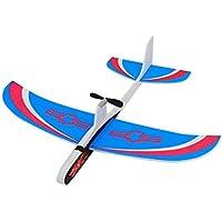 Slec tech グライダー模型玩具飛行機のグライダー投げる飛行機投げるグライダースーパーキャパシター電動ハンド投げ飛行機フリーフラインググライダーモデルおもちゃ30M飛行高度3歳以上