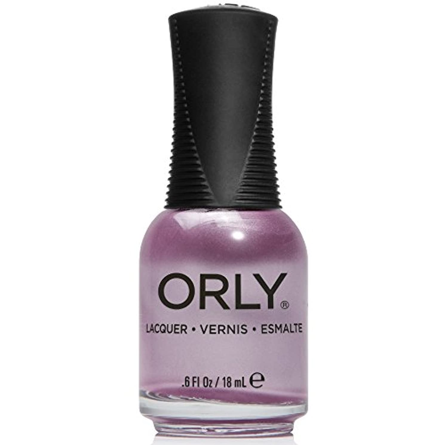 黒くする神経障害ビデオOrly Nail Lacquer - Pastel City 2018 Spring Collection - Lilac City - 18 mL / 0.6 oz