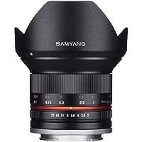 サムヤン SAMYANG 12MM F2 NCS CS ミラーレス用 超広角レンズ ソニーNEX(E-Mount)用 【並行輸入品】