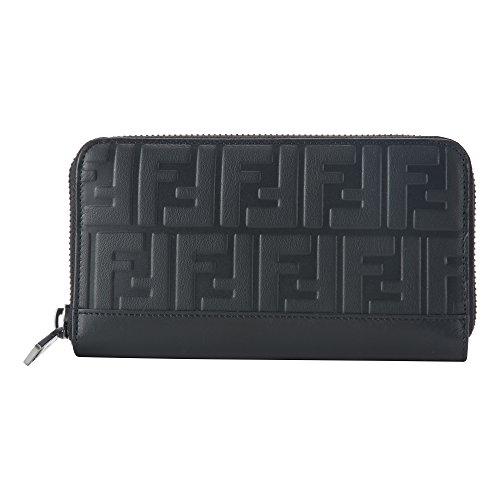 フェンディ(FENDI) 長財布(ラウンドファスナー) 7M0210 A18A F0SAJ ヴィッテロ グレイス ブラック 黒 [並行輸入品]