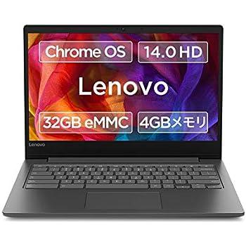 Lenovo Chromebook S330 14.0型HD液晶 タッチ機能なし 英語キーボード MediaTek MT8173C 4GB eMMC 32GB 約10時間駆動 【日本正規代理店品】 81JW000YJE ビジネスブラック