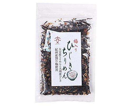 梅入りひじきちりめん (九州産ひじき使用) / 40g TOMIZ/cuoca(富澤商店)