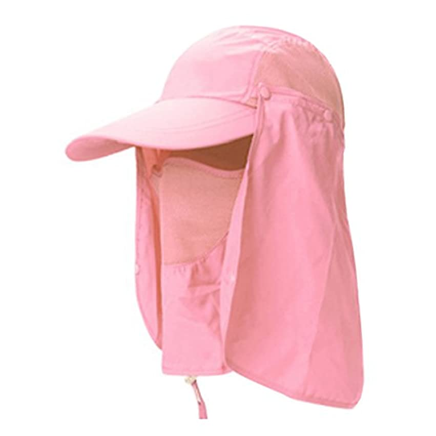 騒ぎ満足できるスペインハット uvカット アウトドア 帽子 夏 キャップ 日焼け止め 防水 登山 釣り プール 海水浴 アウアドア 農作業 園芸 紫外線対策に 360度全部カバー 日よけ帽子 つば広 折りたたみ可 超軽量 通気 速乾  全4色 男女兼用