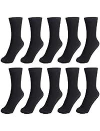 靴下 メンズ ビジネスソックス YOUYC ソックス 10足セット 吸汗 抗菌 防臭 通気性抜群 24-28CM 黒