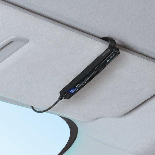 [해외]세이와 (SEIWA) 카 오디오 FM 송신기 Bluetooth 차량용 키트 T1F 볼륨있는 USB A2DP 12V 블랙 BT520/Seiwa (SEIWA) Car Audio FM Transmitter Bluetooth Car Kit USB A2DP 12V Black BT 520 with T1F Volume