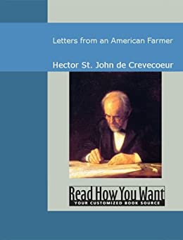 letters from an american farmer letters from an american farmer edition 23326