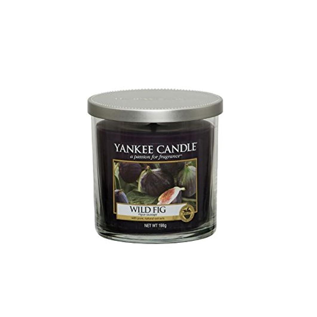 遠洋の夜の動物園あいまいなYankee Candles Small Pillar Candle - Wild Fig (Pack of 6) - ヤンキーキャンドルの小さな柱キャンドル - 野生のイチジク (x6) [並行輸入品]