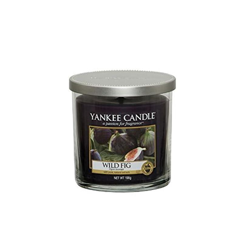 争いアヒル債務Yankee Candles Small Pillar Candle - Wild Fig (Pack of 2) - ヤンキーキャンドルの小さな柱キャンドル - 野生のイチジク (x2) [並行輸入品]