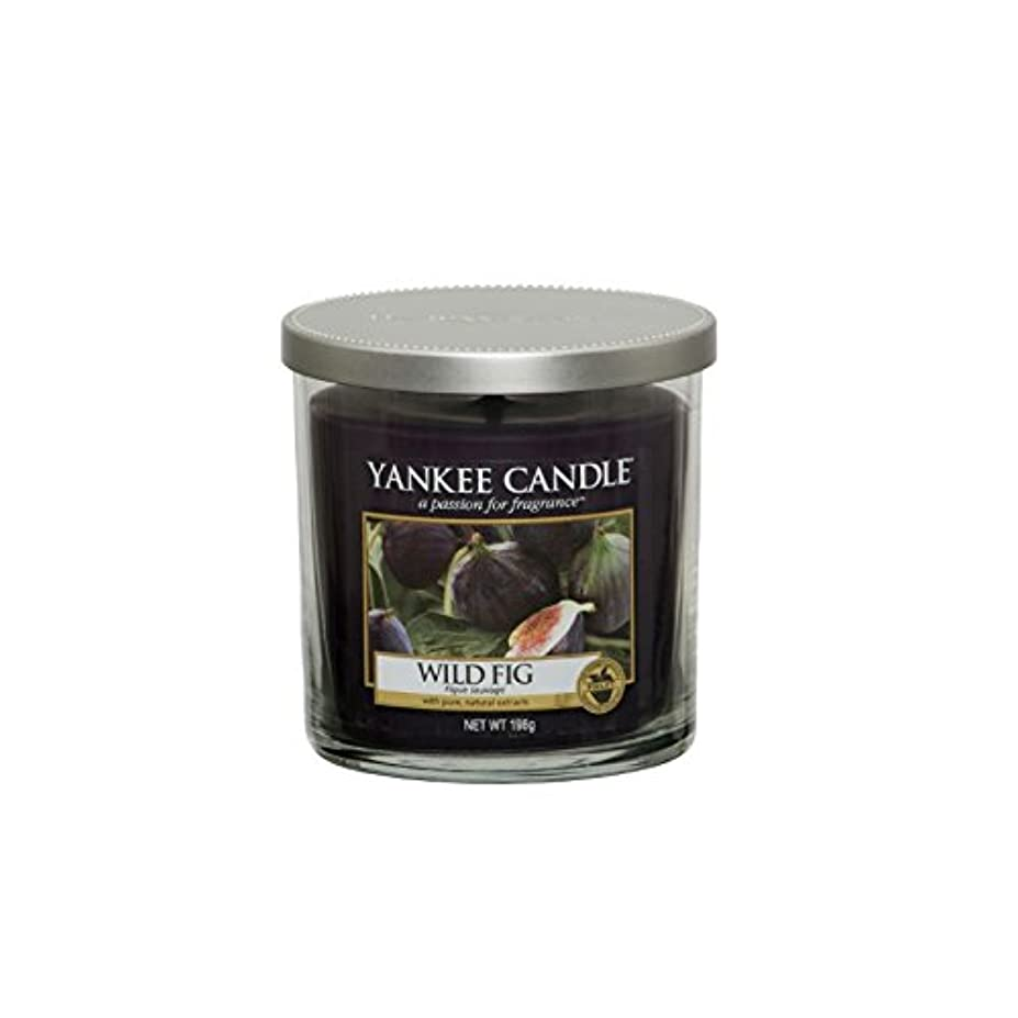 近代化光の無関心ヤンキーキャンドルの小さな柱キャンドル - 野生のイチジク - Yankee Candles Small Pillar Candle - Wild Fig (Yankee Candles) [並行輸入品]