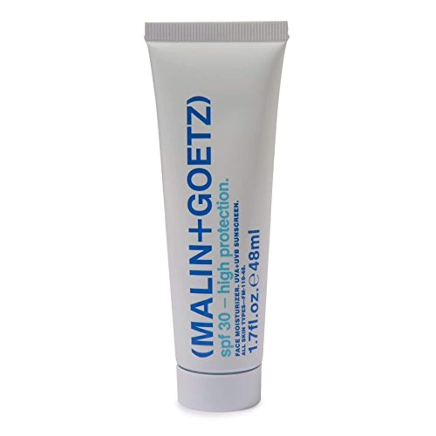 折り目シンボル膨らませるマリン+ゲッツ顔の保湿剤の 30 48ミリリットル x2 - MALIN+GOETZ Face Moisturiser SPF 30 48ml (Pack of 2) [並行輸入品]