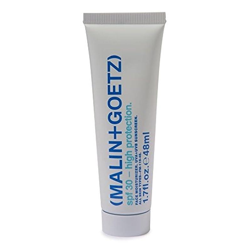 一方、合体移民マリン+ゲッツ顔の保湿剤の 30 48ミリリットル x4 - MALIN+GOETZ Face Moisturiser SPF 30 48ml (Pack of 4) [並行輸入品]
