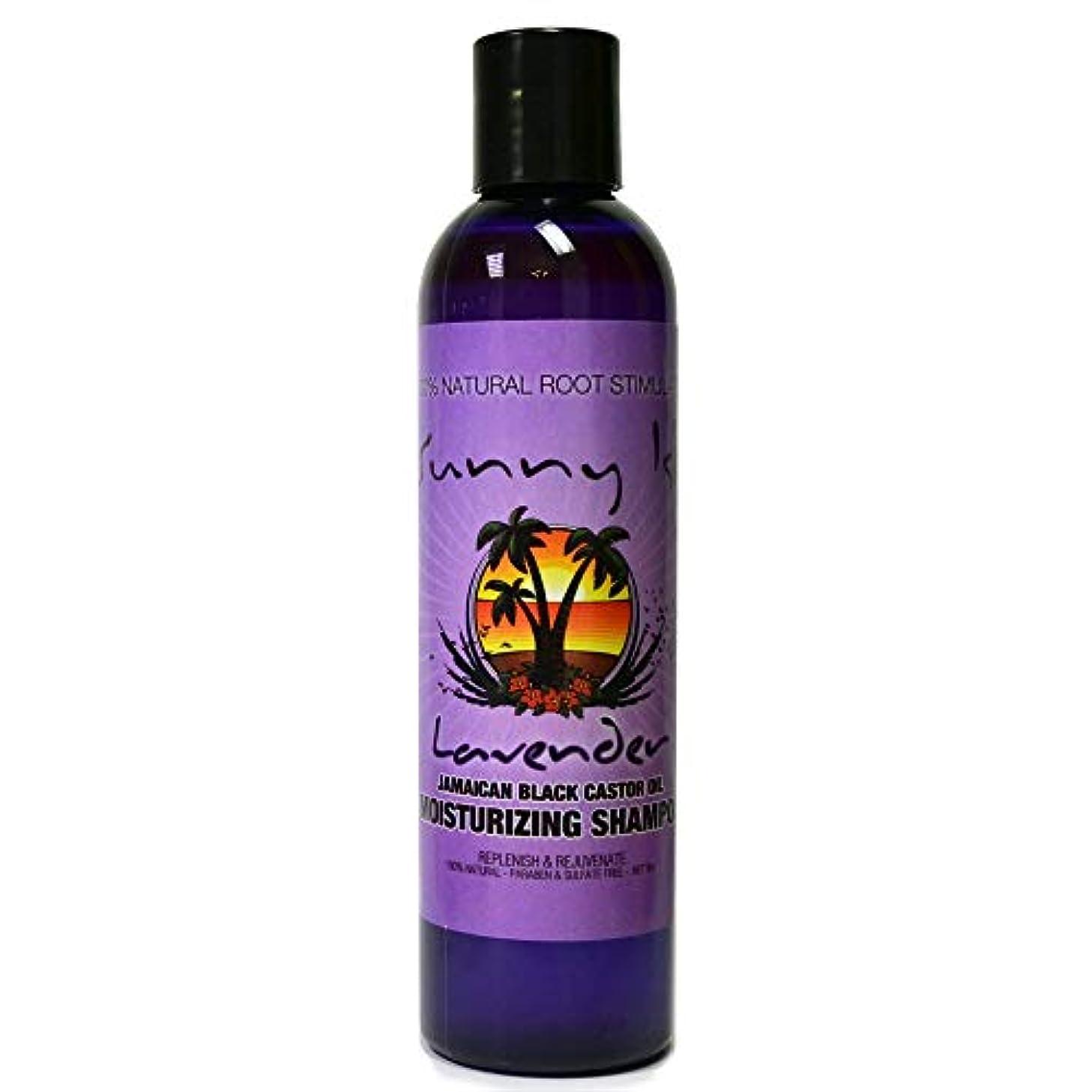 Sunny Isle Jamaican Black Castor Oil サニー島 - ジャマイカブラックヒマシ油モイスチャライジングコンディショナーラベンダー - 8オンスクリアランス価格 8オンス