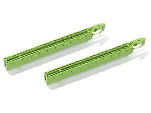 PCI Express x16スロット 164ピン ラッチ・ロック式 (2個セット) 取付角度180度 基盤取付用 ストッパー破損マザーボード修理等に [並行輸入品]