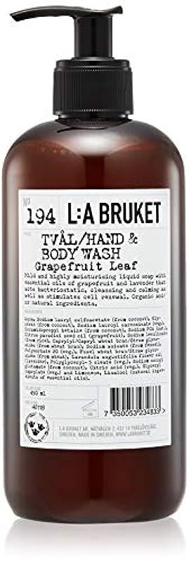 南アメリカわずらわしい冷凍庫L:a Bruket (ラ ブルケット) ハンド&ボディウォッシュ (グレープフルーツリーフ) 450g