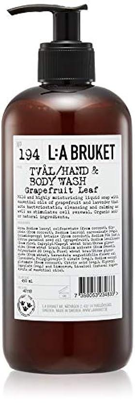 モルヒネ急行する戦闘L:a Bruket (ラ ブルケット) ハンド&ボディウォッシュ (グレープフルーツリーフ) 450g