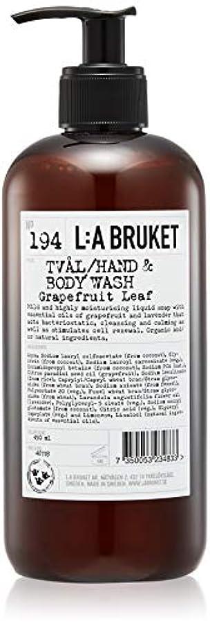 廊下相手導入するL:a Bruket (ラ ブルケット) ハンド&ボディウォッシュ (グレープフルーツリーフ) 450g