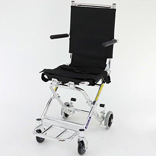 新発売!次世代型簡易車椅子【ポケッタ】【簡易型】【旅行用】【...