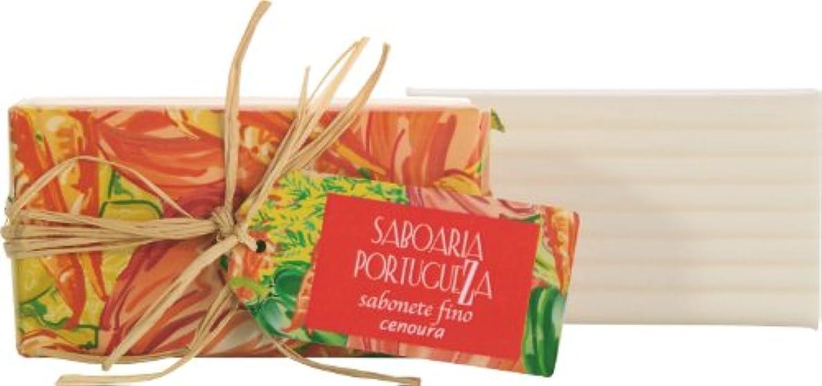 下向き懺悔刺繍サボアリア ソープ180g キャロット