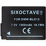 【str】保護カバー付き 全カメラ機種に対し残量表示可 Panasonic パナソニック DMW-BLC12 完全互換バッテリー LUMIX ルミックス DMC-G6/DMC-G5/DMC-FZ200/DMC-FZ300/DMC-GH2/DMC-GX8 デジタルカメラ対応充電池