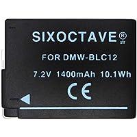 [str] 残量表示可能 Panasonic パナソニック DMW-BLC12 互換バッテリー [純正充電器で充電可能 純正品と同じ使用方法] LUMIX ルミックスDMC-G6 / DMC-G5 / DMC-FZ200 / DMW-FZ300 / DMC-FZ1000 / DMC-GX8