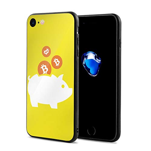 Any Share ピギー ビットコイン IPhone7/8 ケース スマホケース 落下防止 カバー リング付き 全面保護 携帯カバー 携帯ケース 超薄 超軽量 衝撃 おしゃれ 男女兼用