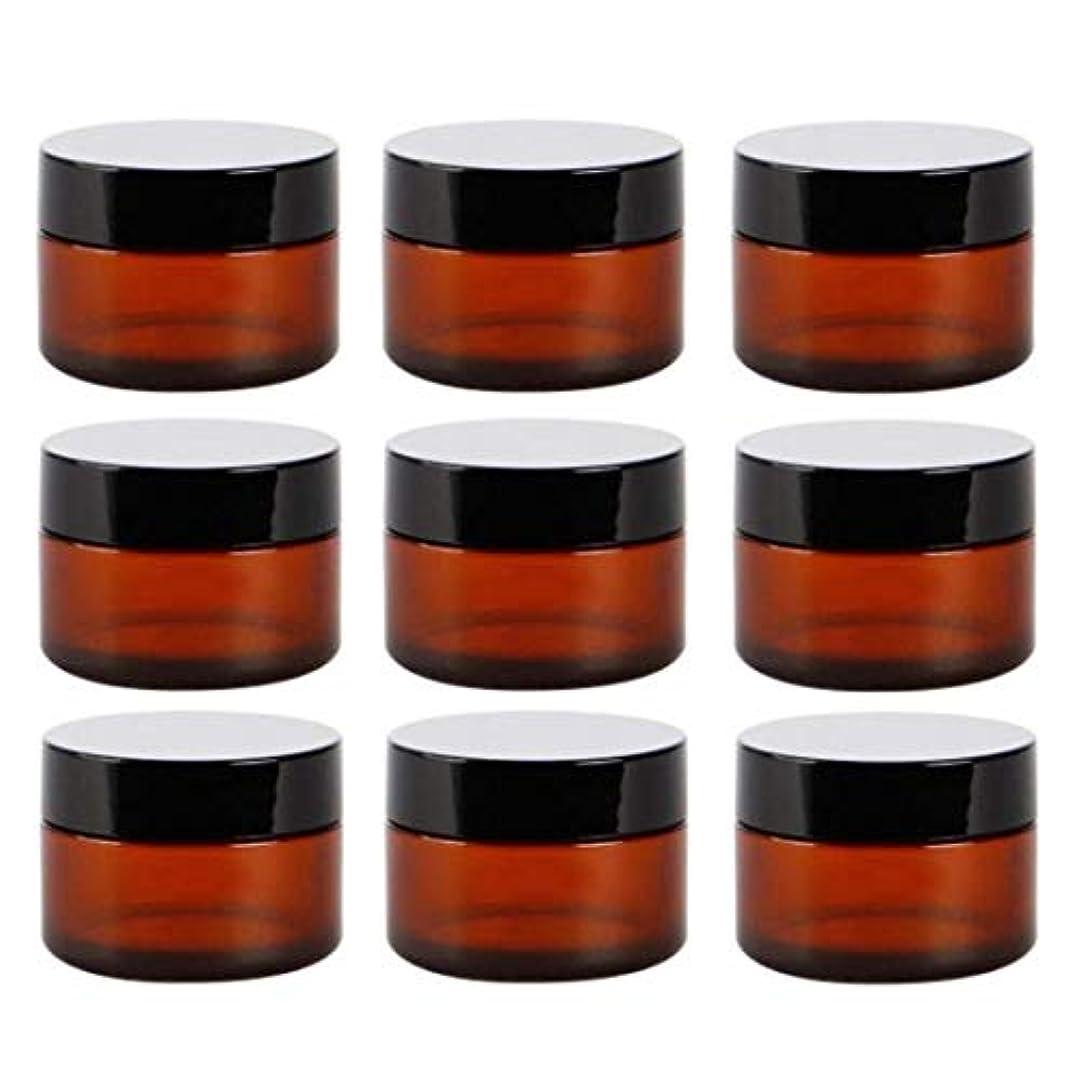 激しい服を洗う野球Yiteng スポイト遮光瓶 アロマオイル 精油 香水やアロマの保存 小分け用 遮光瓶 保存 詰替え ガラス製 9本セット (茶色30g)