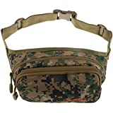 MagiDeal Fly Fishing Waist Bag Carp Tackle Accessories Pack Lure Gear Case Portable