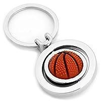 Skyllc バスケットボールチャームメタルキーリングキーホルダーキーリングチェーンホット
