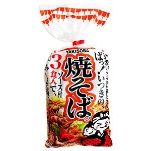 五木食品 3食焼そば 510g×12/箱〔ケース〕
