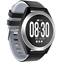 HEMOBLLO G50s Smart Watch Large Screen Square Watch Monitoring Heart Rate Smart Wrist Watch for Men Women(Grey)