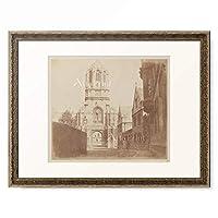 ウィリアム・ヘンリー・フォックス・タルボット William Henry Fox Talbot 「「自然の鉛筆 The Pencil of Nature」 Gate of Christchurch, ca. 1844-1845.」 額装アート作品