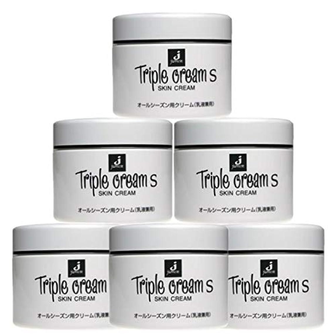 腸ラベル予見するジュモン化粧品 トリプルクリームS 215g(6個セット)
